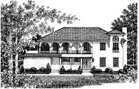 Plan Number 43063 - 2172 Square Feet