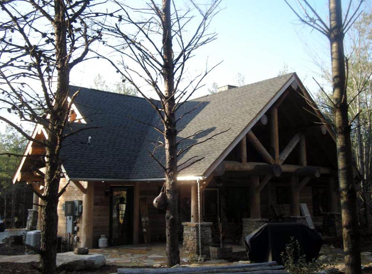 Cabin, Craftsman, Log Plan with 1416 Sq. Ft., 3 Bedrooms, 2 Bathrooms Picture 7
