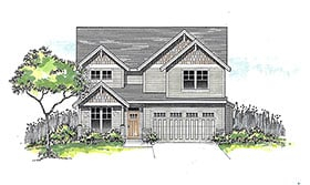 Plan Number 44401 - 2508 Square Feet