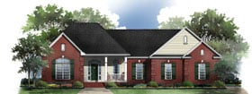 Plan Number 59069 - 1801 Square Feet