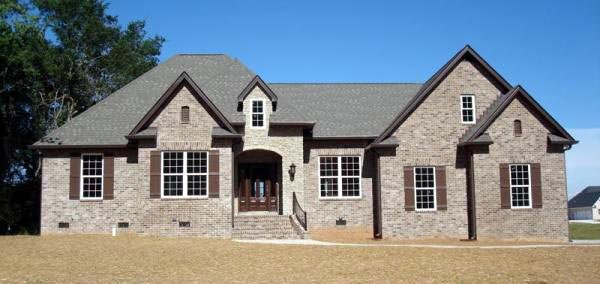 European, French Country, Traditional Plan with 2350 Sq. Ft., 3 Bedrooms, 3 Bathrooms, 2 Car Garage Picture 12