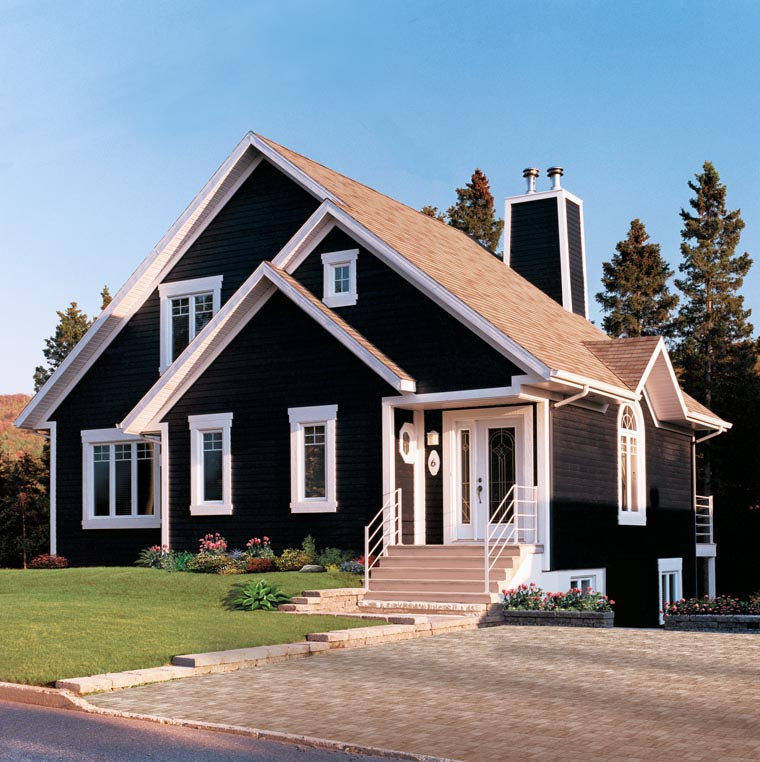 Bungalow, Contemporary, Victorian Plan with 1468 Sq. Ft., 3 Bedrooms, 2 Bathrooms Picture 5