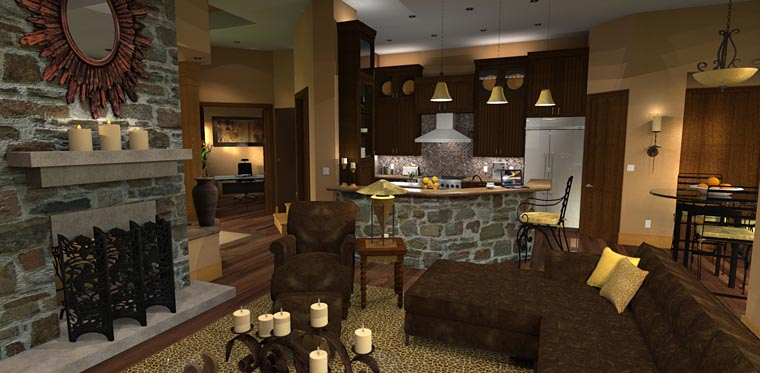 Craftsman, Tuscan Plan with 2106 Sq. Ft., 3 Bedrooms, 3 Bathrooms, 2 Car Garage Picture 15