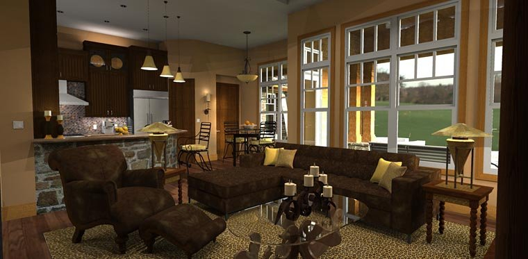 Craftsman, Tuscan Plan with 2106 Sq. Ft., 3 Bedrooms, 3 Bathrooms, 2 Car Garage Picture 16