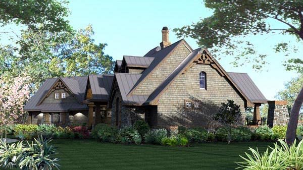 Craftsman, Tuscan Plan with 2106 Sq. Ft., 3 Bedrooms, 3 Bathrooms, 2 Car Garage Picture 18