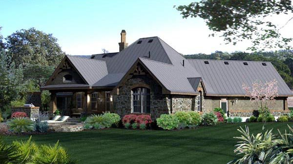 Craftsman, Tuscan Plan with 2106 Sq. Ft., 3 Bedrooms, 3 Bathrooms, 2 Car Garage Picture 19