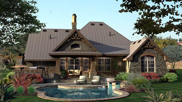 Craftsman, Tuscan Plan with 2106 Sq. Ft., 3 Bedrooms, 3 Bathrooms, 2 Car Garage Picture 20