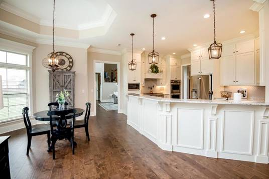 European, French Country Plan with 4392 Sq. Ft., 4 Bedrooms, 4 Bathrooms, 3 Car Garage Picture 2