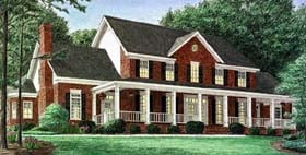 Plan Number 67126 - 4058 Square Feet