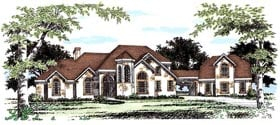 Plan Number 67417 - 3161 Square Feet