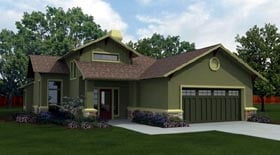 Plan Number 74504 - 1848 Square Feet