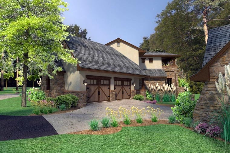 Craftsman, Tuscan Plan with 3927 Sq. Ft., 3 Bedrooms, 4 Bathrooms, 2 Car Garage Picture 11