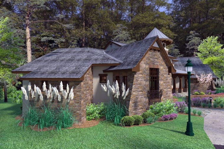 Craftsman, Tuscan Plan with 3927 Sq. Ft., 3 Bedrooms, 4 Bathrooms, 2 Car Garage Picture 4