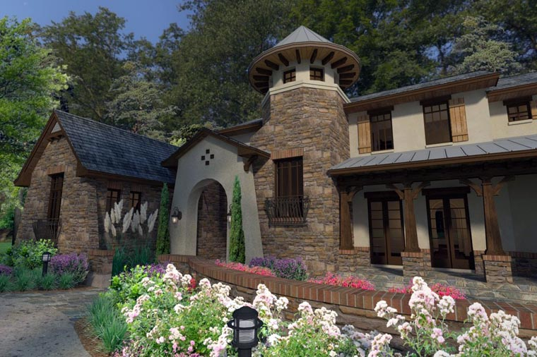 Craftsman, Tuscan Plan with 3927 Sq. Ft., 3 Bedrooms, 4 Bathrooms, 2 Car Garage Picture 6