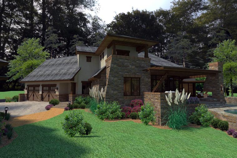 Craftsman, Tuscan Plan with 3927 Sq. Ft., 3 Bedrooms, 4 Bathrooms, 2 Car Garage Picture 8