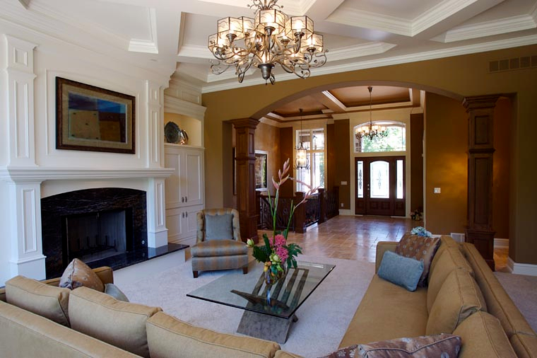 Traditional Plan with 4373 Sq. Ft., 2 Bedrooms, 3 Bathrooms, 4 Car Garage Picture 5