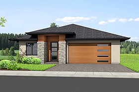 Plan Number 80505 - 2306 Square Feet