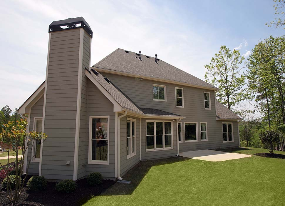 Country, Farmhouse, Southern, Traditional Plan with 2589 Sq. Ft., 4 Bedrooms, 3 Bathrooms, 2 Car Garage Picture 3