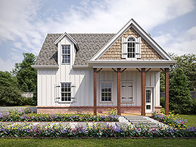 Plan Number 80738 - 1344 Square Feet