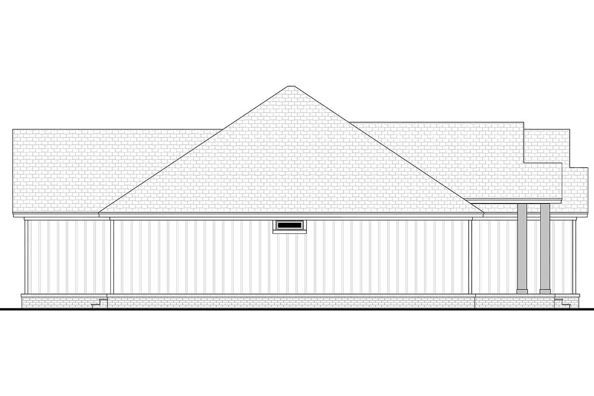 Country, Farmhouse, Ranch Plan with 2339 Sq. Ft., 3 Bedrooms, 3 Bathrooms, 2 Car Garage Picture 3