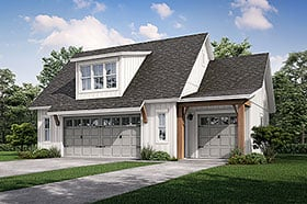 Plan Number 80808 - 512 Square Feet