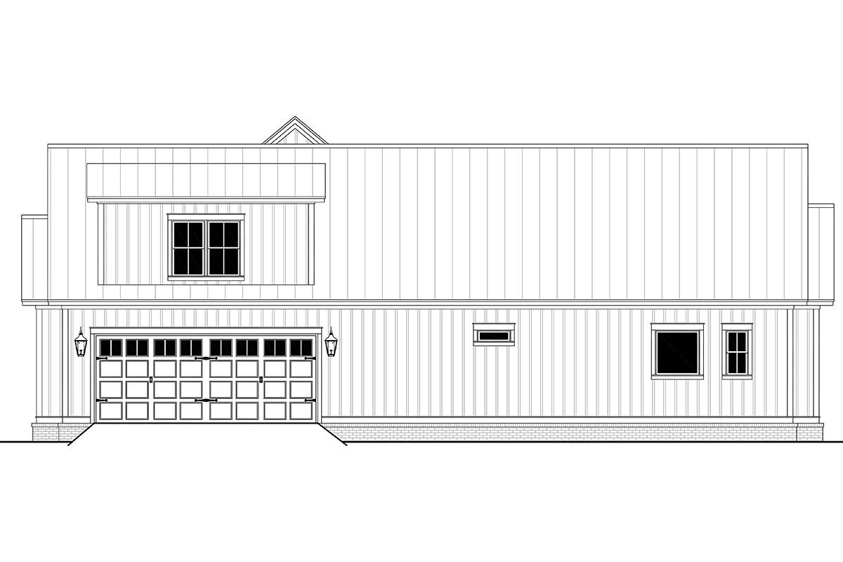 Country, Craftsman, Farmhouse, Traditional Plan with 2428 Sq. Ft., 3 Bedrooms, 3 Bathrooms, 2 Car Garage Picture 2