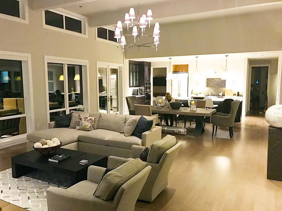 Contemporary, Modern Plan with 2557 Sq. Ft., 3 Bedrooms, 3 Bathrooms, 2 Car Garage Picture 9