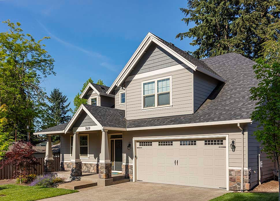 Cottage, Craftsman Plan with 2577 Sq. Ft., 4 Bedrooms, 3 Bathrooms, 2 Car Garage Picture 7