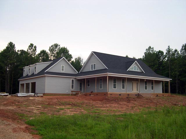 Cottage, Country, Farmhouse, Traditional Plan with 2556 Sq. Ft., 4 Bedrooms, 3 Bathrooms, 2 Car Garage Picture 12