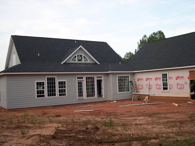 Cottage, Country, Farmhouse, Traditional Plan with 2556 Sq. Ft., 4 Bedrooms, 3 Bathrooms, 2 Car Garage Picture 8