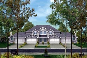 Plan Number 87350 - 6828 Square Feet