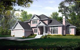 Plan Number 90750 - 3114 Square Feet