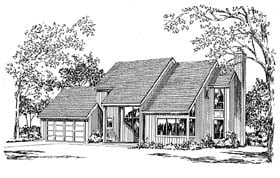 Plan Number 94010 - 1564 Square Feet