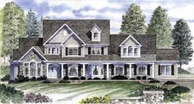 Plan Number 94176 - 3096 Square Feet