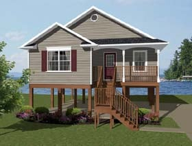 Plan Number 96703 - 856 Square Feet