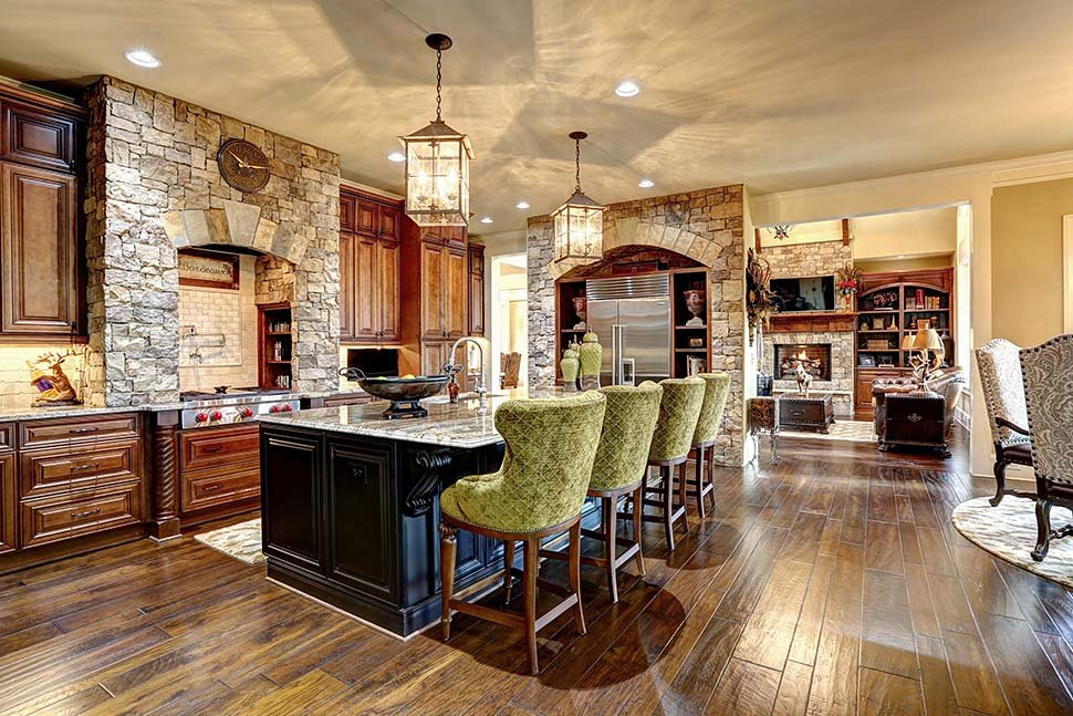 Craftsman, Ranch, Tuscan Plan with 3480 Sq. Ft., 3 Bedrooms, 4 Bathrooms, 3 Car Garage Picture 15