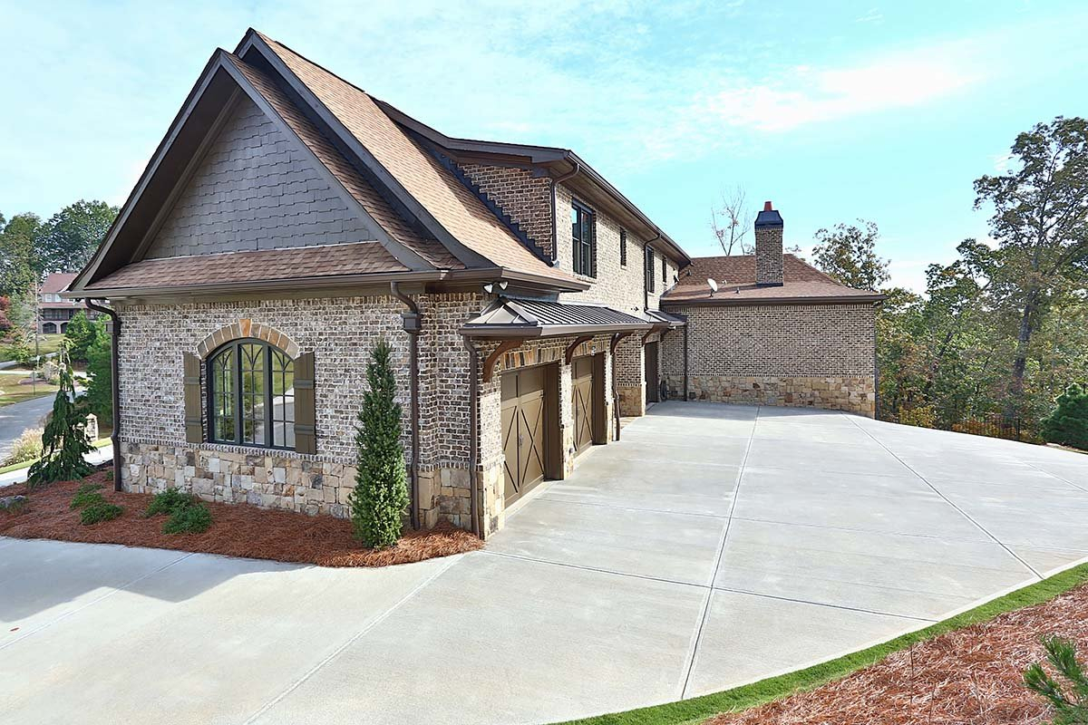 Craftsman, Ranch, Tuscan Plan with 3480 Sq. Ft., 3 Bedrooms, 4 Bathrooms, 3 Car Garage Picture 3