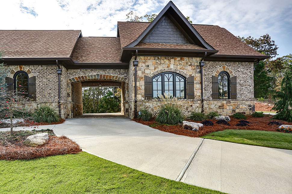 Craftsman, Ranch, Tuscan Plan with 3480 Sq. Ft., 3 Bedrooms, 4 Bathrooms, 3 Car Garage Picture 39