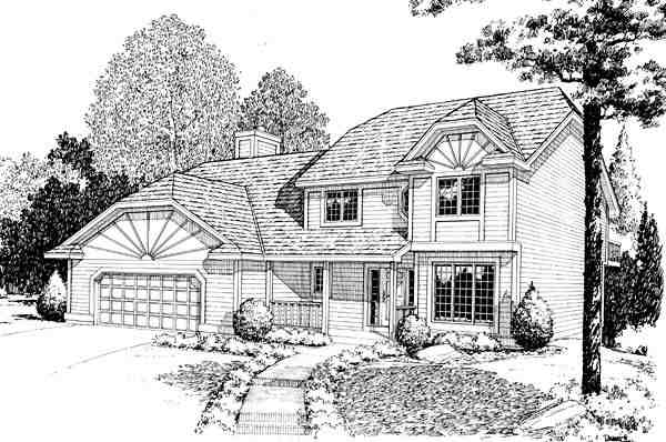 Country, Farmhouse, Traditional House Plan 10831 with 3 Beds, 3 Baths, 2 Car Garage Elevation