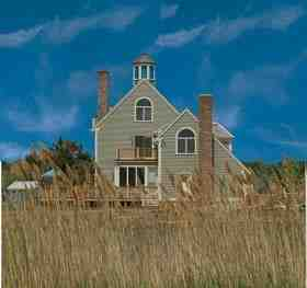 Cape Cod, Coastal, Cottage, Victorian House Plan 19391 with 2 Beds, 4 Baths Elevation