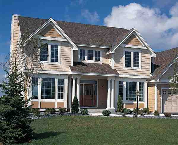 Colonial, Craftsman, European, Traditional House Plan 24567 with 3 Beds, 3 Baths, 3 Car Garage Picture 2
