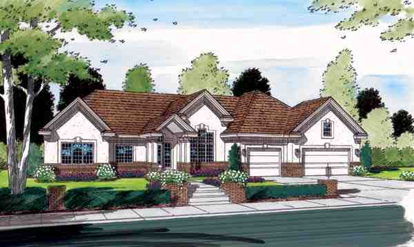 Contemporary, One-Story, Ranch, Traditional House Plan 24802 with 4 Beds, 3 Baths, 3 Car Garage Picture 4