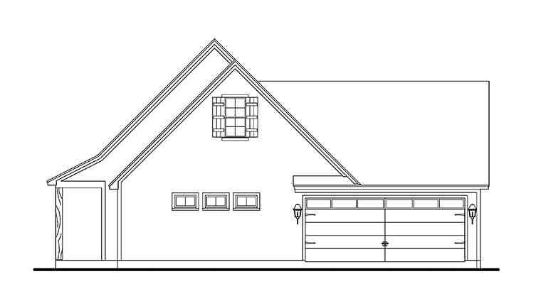 Cabin, Cottage, Country, Farmhouse, Southern, Traditional House Plan 40041 with 3 Beds, 2 Baths, 2 Car Garage Picture 1