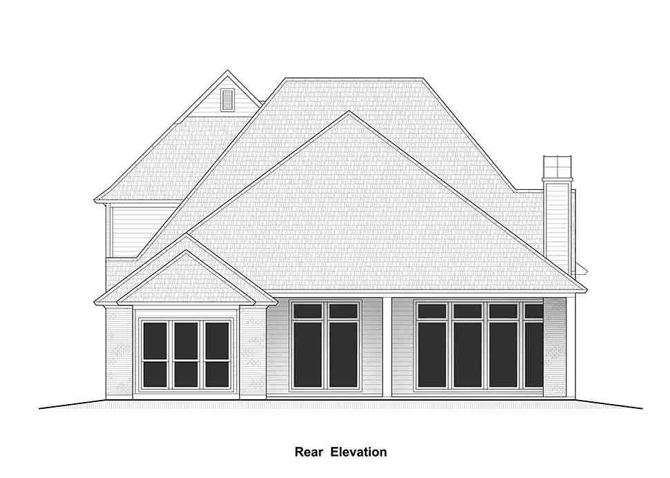 Country, European, French Country House Plan 40337 with 4 Beds, 4 Baths, 2 Car Garage Picture 10