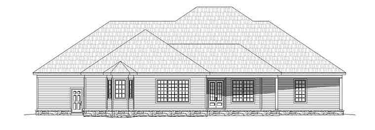 Country, Farmhouse, Ranch, Traditional House Plan 40806 with 4 Beds, 5 Baths, 3 Car Garage Picture 5