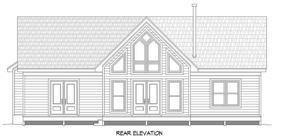 Ranch, Traditional House Plan 40891 with 3 Beds, 2 Baths Picture 4