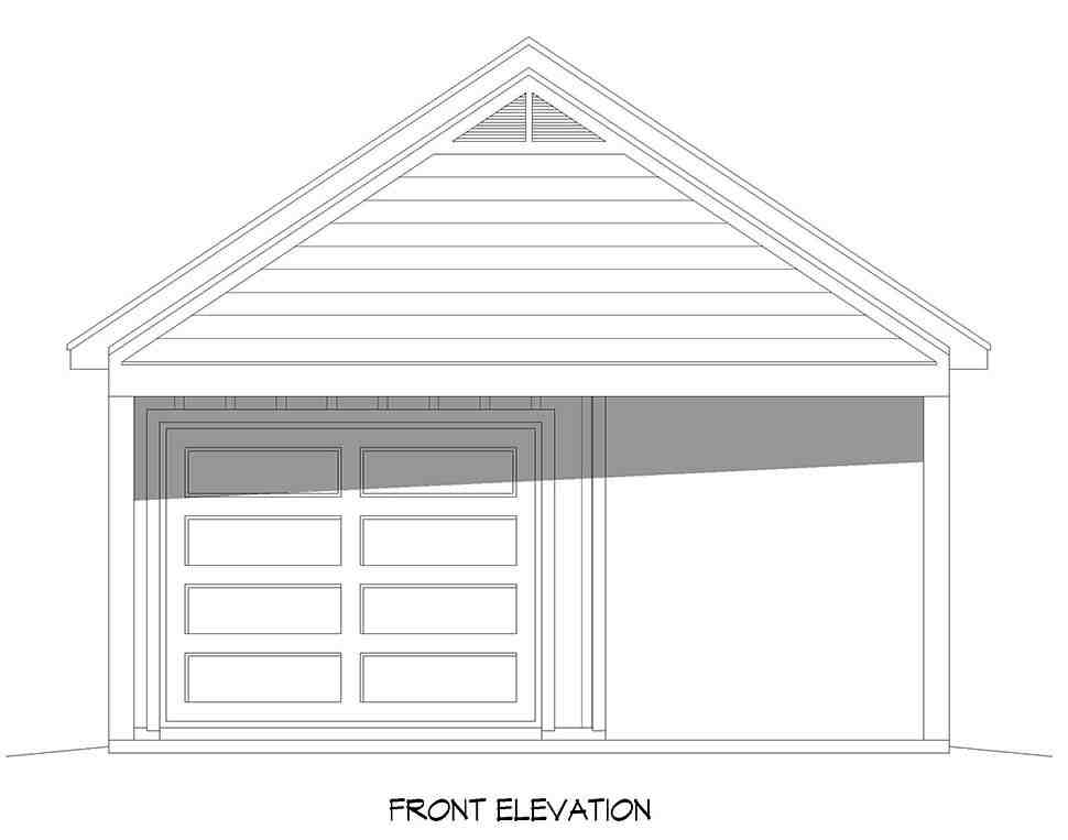Country, Ranch, Traditional 3 Car Garage Plan 40895 Picture 3