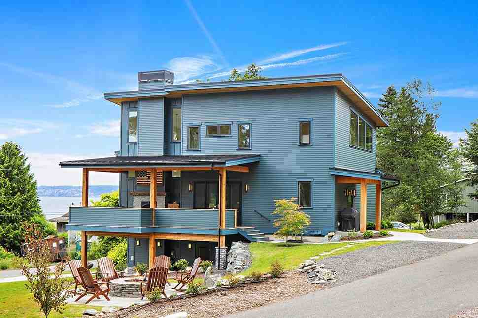 Contemporary, Modern House Plan 40919 with 3 Beds, 3 Baths, 2 Car Garage Picture 2