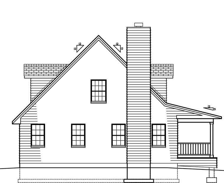 Country House Plan 41021 with 3 Beds, 3 Baths Picture 1