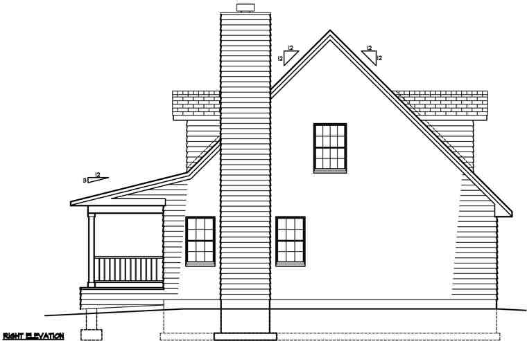 Country House Plan 41021 with 3 Beds, 3 Baths Picture 2